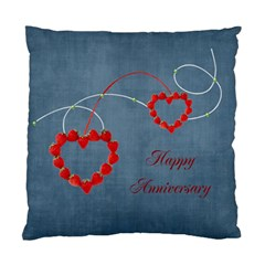 Happy Anniversary  Case By Elena Petrova   Standard Cushion Case (two Sides)   3tmuezase9lr   Www Artscow Com Front
