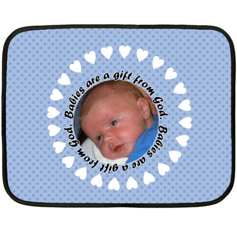 Silas By Cindy Zoll   Fleece Blanket (mini)   Hxjzn78013uh   Www Artscow Com 35 x27 Blanket
