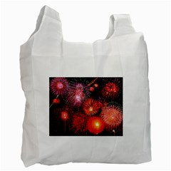 Fireworks Twin Sided Reusable Shopping Bag