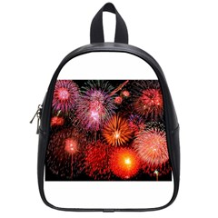 Fireworks Small School Backpack by level1premium