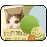 happy pet - Fleece Blanket (Mini)