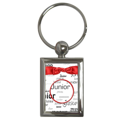 Wkm School Junior Key Chain 1 By Lisa Minor   Key Chain (rectangle)   Dtsnmd2ye7zz   Www Artscow Com Front