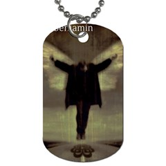 Breaking By Harri   Dog Tag (two Sides)   Roy2gm014dhd   Www Artscow Com Front