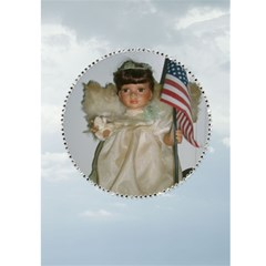 Congradulations On The Birth Of Your Child 1 By Kim Blair   Greeting Card 5  X 7    80va0pqs3spc   Www Artscow Com Front Inside
