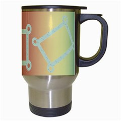 Rainbow Mug By Kimmy   Travel Mug (white)   Aml20e44m07d   Www Artscow Com Right