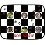 Dog Bed Mini Blanket - Fleece Blanket (Mini)