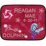 Reagan - Mini Fleece Blanket
