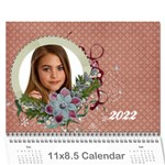 18 month 2013 calendar/family-any theme - Wall Calendar 11 x 8.5 (18 Months)