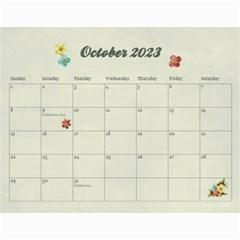 18 Month 2015 Calendar/family Any Theme By Mikki   Wall Calendar 11  X 8 5  (18 Months)   Dyahjav3t63z   Www Artscow Com Oct 2015
