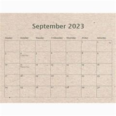 Fantasic Classic Neutral 2015 Calendar By Catvinnat   Wall Calendar 11  X 8 5  (12 Months)   0ilkbp3zvp1o   Www Artscow Com Sep 2015