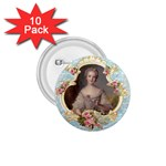 Young Marie Antoinette Portrait 1.75  Button (10 pack)
