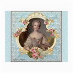 Young Marie Antoinette Portrait Glasses Cloth (Small)