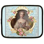 Young Marie Antoinette Portrait Netbook Case (Large)