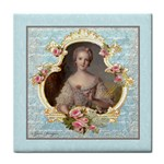 Young Marie Antoinette Portrait Face Towel