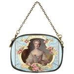 Young Marie Antoinette Portrait Chain Purse (One Side)