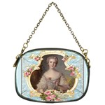 Young Marie Antoinette Portrait Chain Purse (Two Sides)