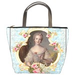 Young Marie Antoinette Portrait Bucket Bag