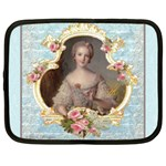 Young Marie Antoinette Portrait Netbook Case (XL)