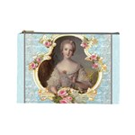 Young Marie Antoinette Portrait Cosmetic Bag (Large)