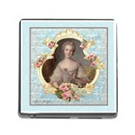 Young Marie Antoinette Portrait Memory Card Reader with Storage (Square)