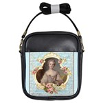 Young Marie Antoinette Portrait Girls Sling Bag