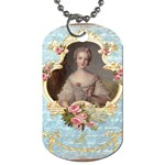 Young Marie Antoinette Portrait Dog Tag (One Side)