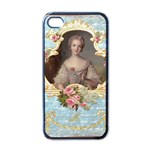 Young Marie Antoinette Portrait Apple iPhone 4 Case (Black)
