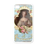 Young Marie Antoinette Portrait Apple iPhone 4 Case (White)