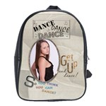 Dance Large School Bag - School Bag (Large)