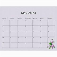 Pretty In Mauve 2017 (any Year) Calendar By Deborah   Wall Calendar 11  X 8 5  (12 Months)   G3eh9t30gsrw   Www Artscow Com May 2017
