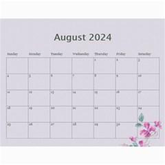 Pretty In Mauve 2017 (any Year) Calendar By Deborah   Wall Calendar 11  X 8 5  (12 Months)   G3eh9t30gsrw   Www Artscow Com Aug 2017