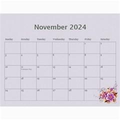 Pretty In Mauve 2017 (any Year) Calendar By Deborah   Wall Calendar 11  X 8 5  (12 Months)   G3eh9t30gsrw   Www Artscow Com Nov 2017