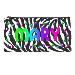 Zebra Pencil Bag By Paula Yagisawa   Pencil Case   M8q9651ccjcx   Www Artscow Com Front