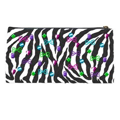Zebra Pencil Bag By Paula Yagisawa   Pencil Case   M8q9651ccjcx   Www Artscow Com Back