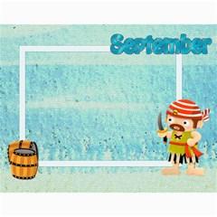 Pirate Pete 2015 Calendar By Catvinnat   Wall Calendar 11  X 8 5  (12 Months)   2kiltmitvnn6   Www Artscow Com Month