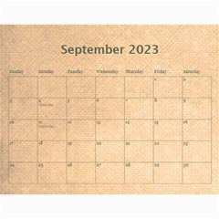 Pirate Pete 2015 Calendar By Catvinnat   Wall Calendar 11  X 8 5  (12 Months)   2kiltmitvnn6   Www Artscow Com Sep 2015