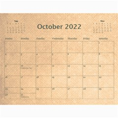 Pirate Pete 2015 Calendar By Catvinnat   Wall Calendar 11  X 8 5  (12 Months)   2kiltmitvnn6   Www Artscow Com Oct 2015