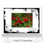 Black & White 2015 Calendar  - Wall Calendar 11  x 8.5  (12-Months)