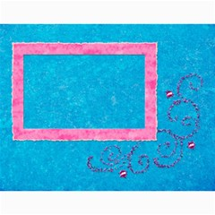 Summer Vacation Calender By Paula Yagisawa   Wall Calendar 11  X 8 5  (12 Months)   Kc7g1eg332h1   Www Artscow Com Month