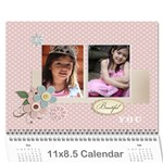 Calendar- Beautiful You - Wall Calendar 11  x 8.5  (12-Months)
