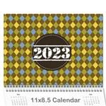 Calendar - For Guys - Wall Calendar 11  x 8.5  (12-Months)