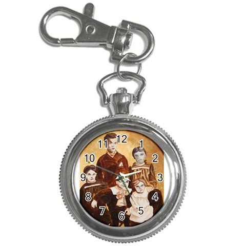 Creepy Kids Watch By Katinka Clementsmith   Key Chain Watch   Fvn1k55mdo1m   Www Artscow Com Front