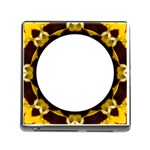 Memory Card Reader - Yellow Pansy - Memory Card Reader (Square)