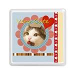 my pet - Memory Card Reader (Square)
