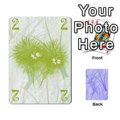 Hanabi & Ikebana By Carlos   Playing Cards 54 Designs   Smd7cod1ghqx   Www Artscow Com Front - Heart5