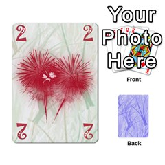 Hanabi & Ikebana By Carlos   Playing Cards 54 Designs   Smd7cod1ghqx   Www Artscow Com Front - Heart6