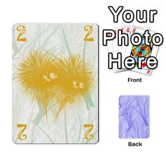 Queen Hanabi & Ikebana By Carlos   Playing Cards 54 Designs   Smd7cod1ghqx   Www Artscow Com Front - HeartQ