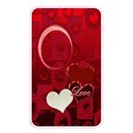 I Heart You red love memory card reader - Memory Card Reader (Rectangular)