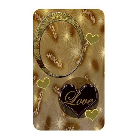 Love Tan Memory Card Reader By Ellan   Memory Card Reader (rectangular)   Ais5i9ml36ev   Www Artscow Com Front