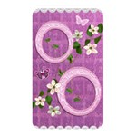 Spring flower floral pink purple memory card reader - Memory Card Reader (Rectangular)